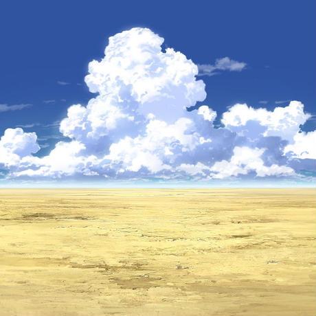 【イラスト背景】【合作】時差入道雲02_03