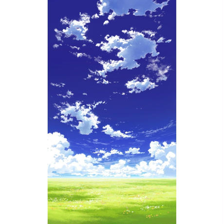 【イラスト背景】【合作】青空_縦PAN用01_10