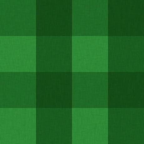 緑チェック柄01
