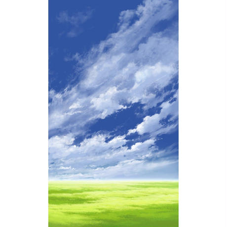 【イラスト背景】【合作】青空_縦PAN用05_11