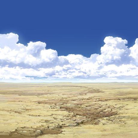 【イラスト背景】【合作】時差入道雲05_09