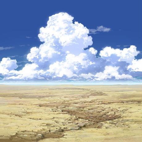 【イラスト背景】【合作】時差入道雲02_09