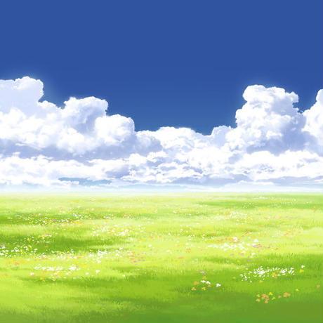 【イラスト背景】【合作】時差入道雲05_10