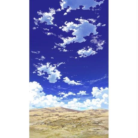 【イラスト背景】【合作】青空_縦PAN用01_12