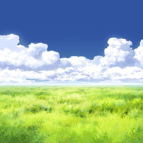 【イラスト背景】【合作】時差入道雲05_14