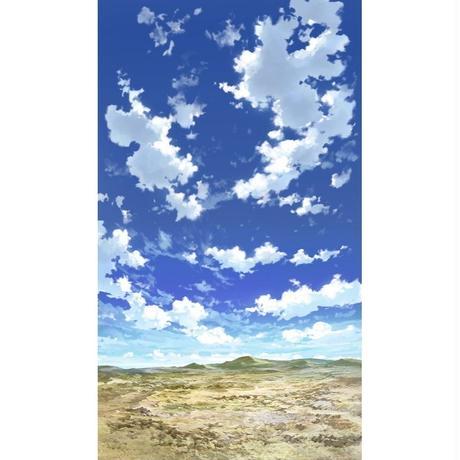 【イラスト背景】【合作】青空_縦PAN用04_15