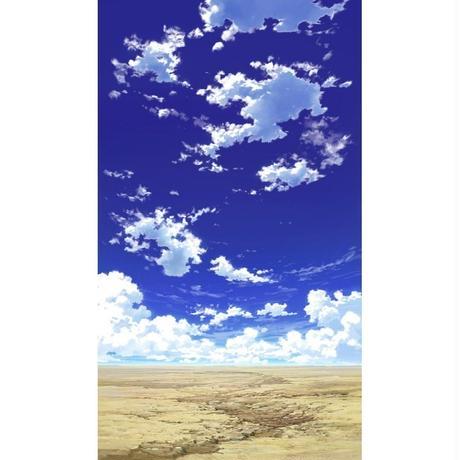 【イラスト背景】【合作】青空_縦PAN用01_09