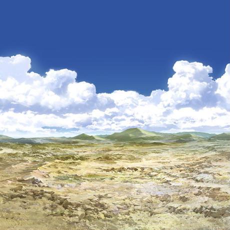 【イラスト背景】【合作】時差入道雲05_15
