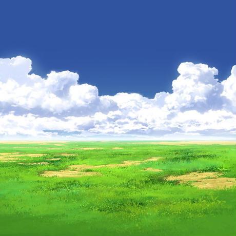 【イラスト背景】【合作】時差入道雲05_02