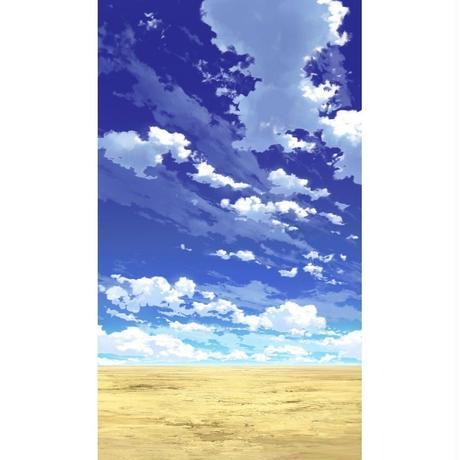 【イラスト背景】【合作】青空_縦PAN用03_03