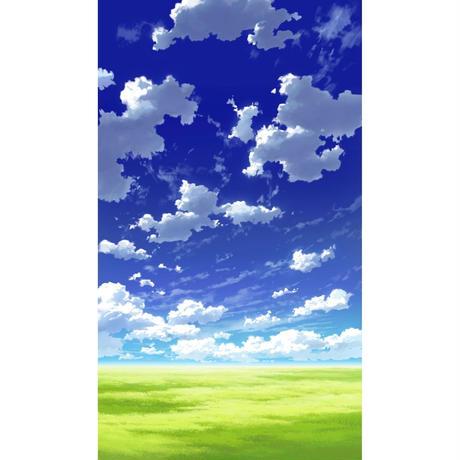【イラスト背景】【合作】青空_縦PAN用02_11