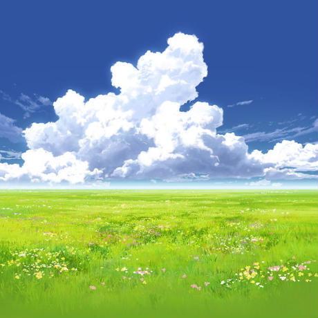 【イラスト背景】【合作】時差入道雲04_07
