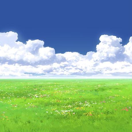 【イラスト背景】【合作】時差入道雲05_04