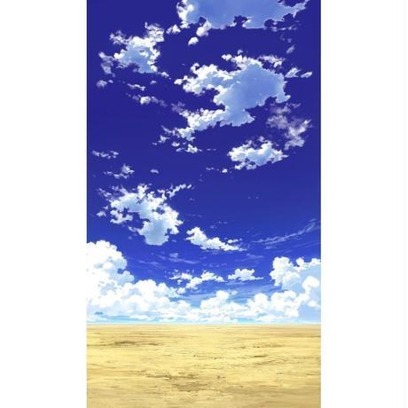 【イラスト背景】【合作】青空_縦PAN用01_03