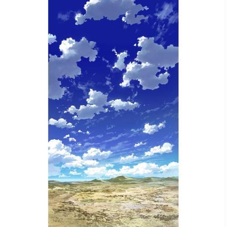 【イラスト背景】【合作】青空_縦PAN用02_15