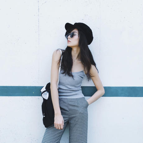 Simple knit camisole