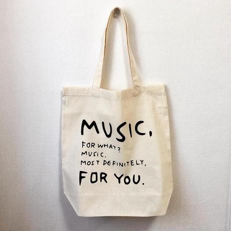 何のための音楽トートバッグ2