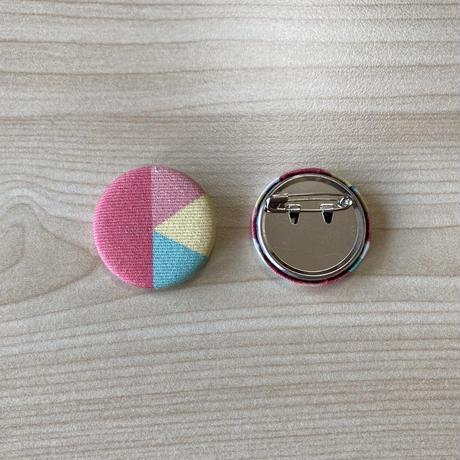 桑折町ロゴの缶バッチ 32mm  1個(桑折町地域おこし協力隊)