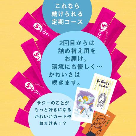 【スペシャル定期便】鉄分補給 ちゅるっとサジー  スティックタイプ