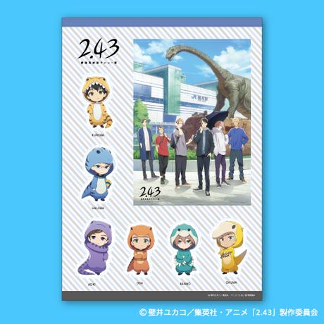 【2.43】福井県限定イラスト・デフォルメキャラクターステッカー