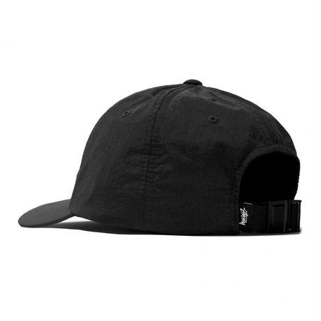 STUSSY  NYLON TASLAN LOW PRO CAP BLACK