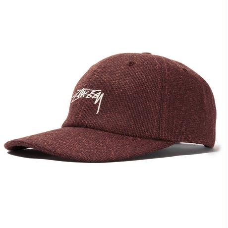 STUSSY SUITING LOW PRO CAP LIGHT BROWN