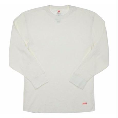 Supreme Hanes Thermal Crew 1Pack / XL