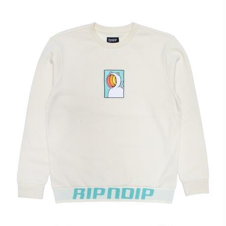 RIPNDIP Open Mind Crewneck Sweater