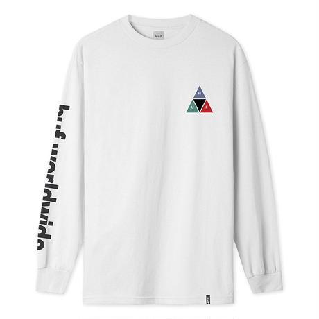 PRISM TT L/S TEE WHITE