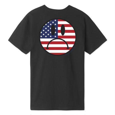 HUF BUMMER USA S/S TEE BLACK