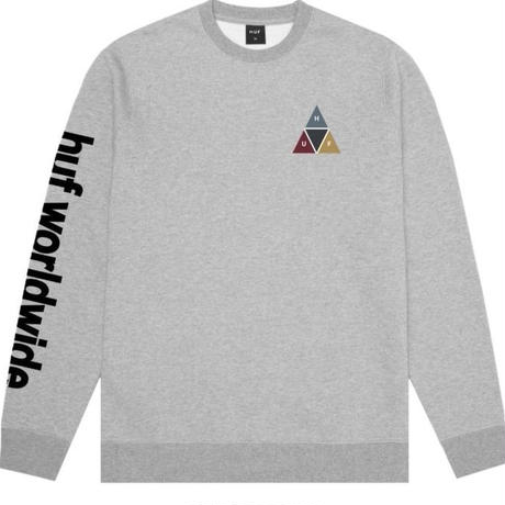 HUF PRISM CREW GREY HEATHER