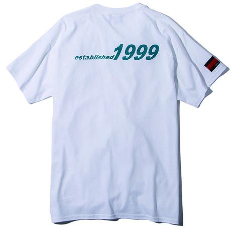 Deviluse Circle Pocket T-shirts WHITE