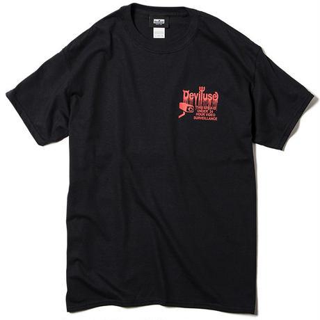 Deviluse CCTV T-shirts BLACK