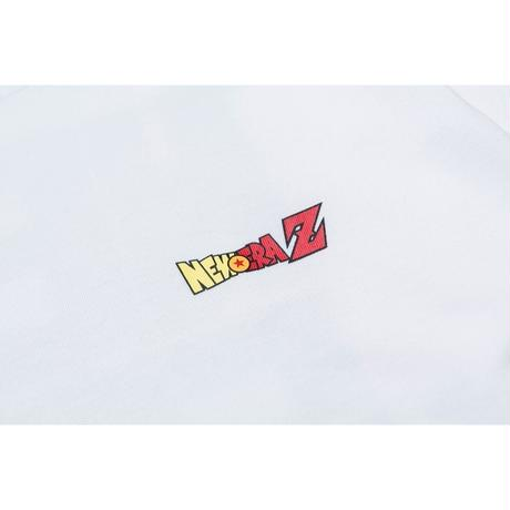 NEWERA LS COTTON TEE DRAGONBALL NEZ SQNE GINY WHITE