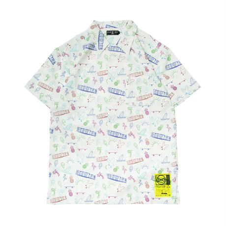 HEDWiNG Neon Totalhandle Shirt White
