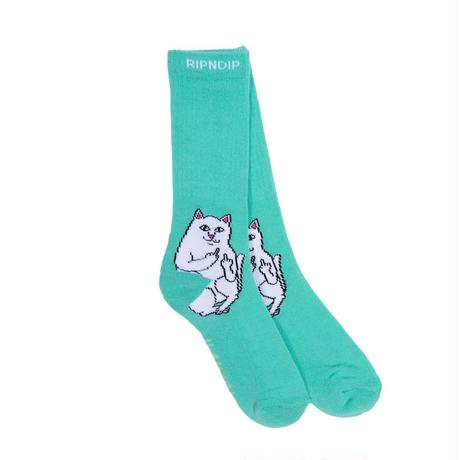 RIPNDIP Lord Nermal Socks MINT