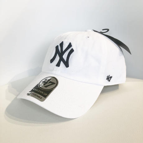 47Brand Yankees Centerfield '47 CLEAN UP CAP WHITE