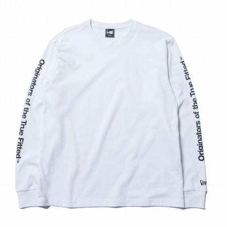 NEWERA L/S PT OTTF WHITE/BLACK