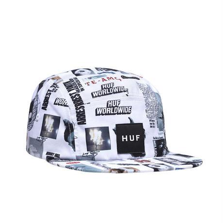 HUF HEADLINES VOLLEY HAT WHITE