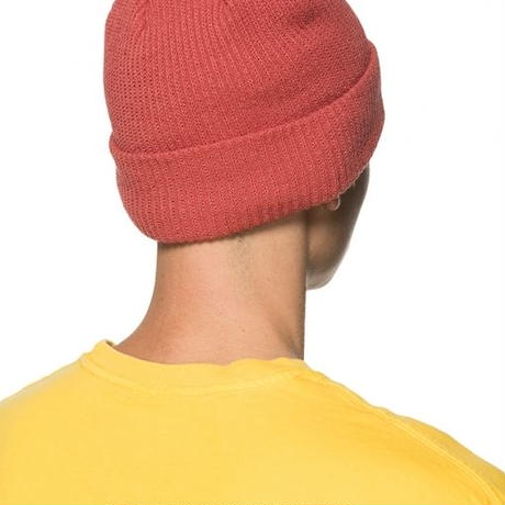 STUSSY Small Patch Watch Cap Beanie Neon Yellow