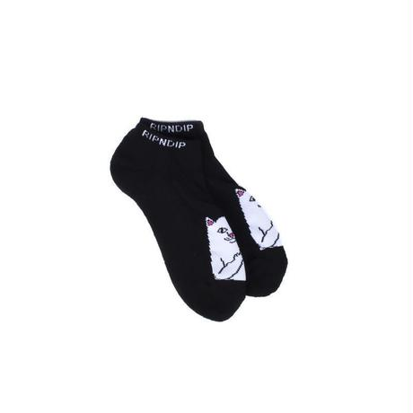 RIPNDIP Lord Nermal Ankle Socks BLACK