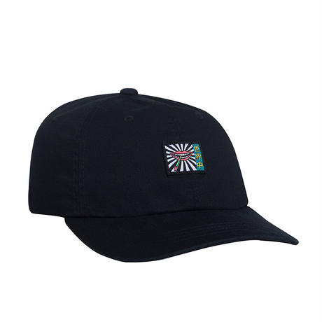 HUF TORCH CURVED VISOR 6 PANEL HAT BLACK