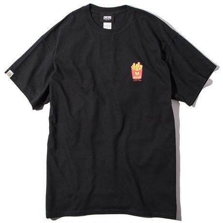 Deviluse Fries T-shirts BLACK