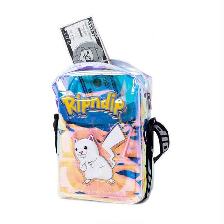 RIPNDIP Catch Em All Shoulder Bag Black Iridescent