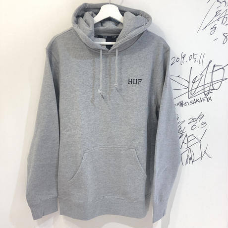 HUF DYSTOPIA CLASSIC H P/O GREY HEATHER