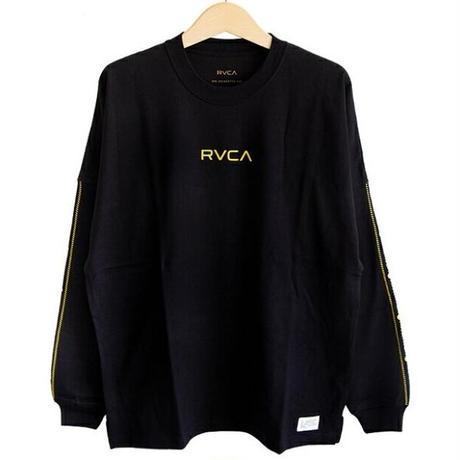 RVCA BIG SILHOETTE L/S TEE BLACK