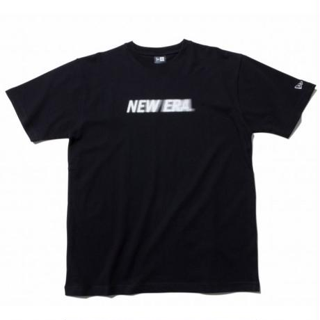 NEW ERA SS COTTON TEE MOTION NEW ERA LOGO BLACK