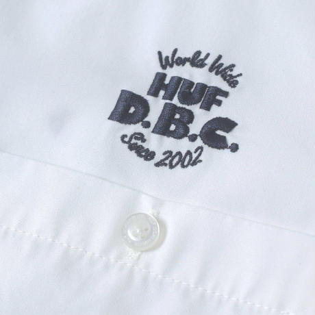 HUF DBC WORK SHIRT OFF WHITE