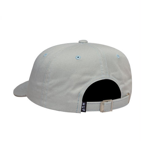 HUF TORCH CURVED VISOR 6 PANEL HAT BLUE