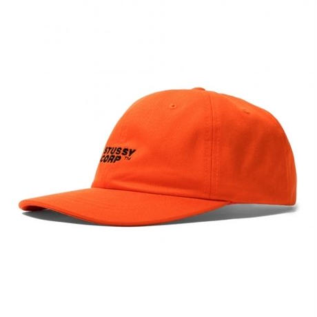 STUSSY Stüssy Corp Low Pro Cap Orange